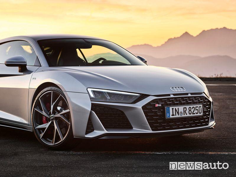 Paraurti e fari anteriori Audi R8 V10 RWD Coupé