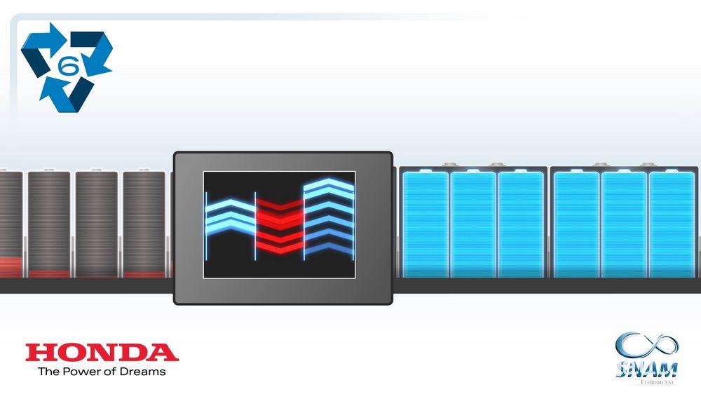 Batterie al litio usate riciclate e utilizzate per produrne nuovi accumulatori