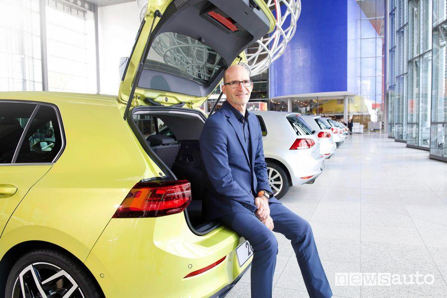 Sulla Golf il Responsabile Design del Gruppo Volkswagen Klaus Bischoff