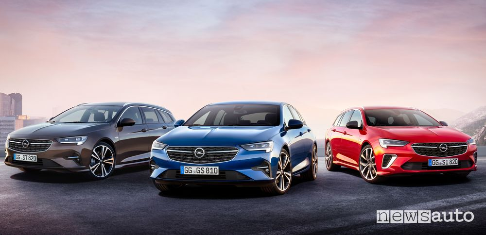 Opel Insignia Business Edition, Business Elegance, Ultimate e GSi