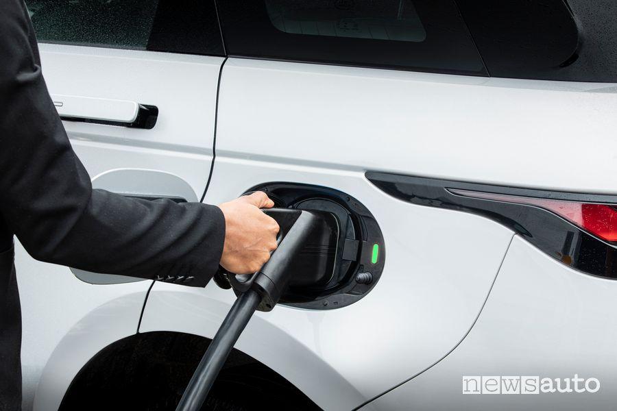 Cavo presa di ricarica rapida Range Rover Evoque ibrido plug-in