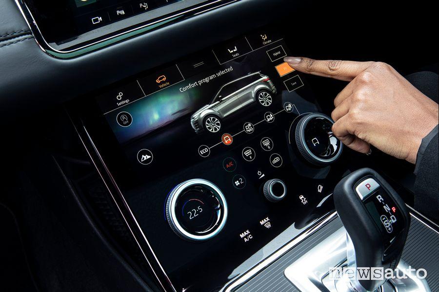 Modalità di guida Range Rover Evoque ibrido plug-in