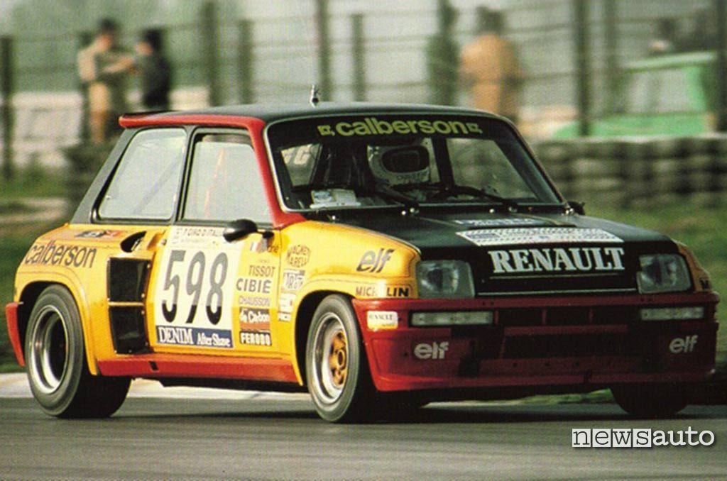 Renault 5 turbo al Giro d'Italia del 1979