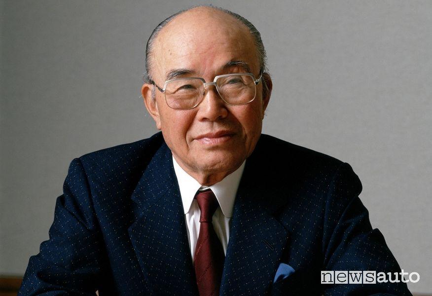 Soichiro Honda, fondatore e primo presidente della Honda