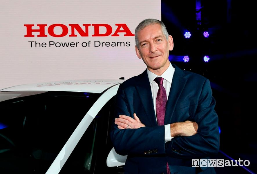 Tom Gardner, Senior Vice President di Honda Motor Europe