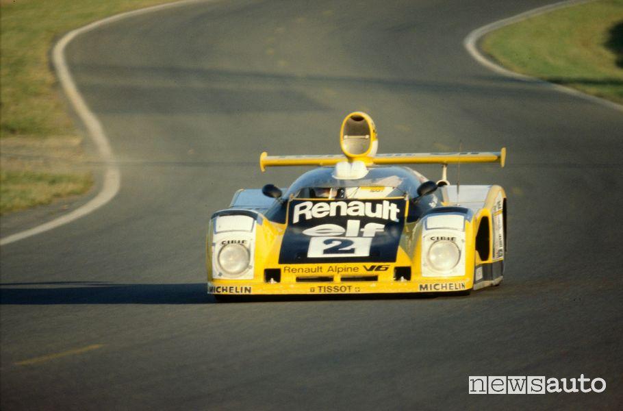 Alpine A442B vittoria alla 24 Ore di Le Mans del 1978 con Jean-Pierre Jaussaud e Didier Pironi