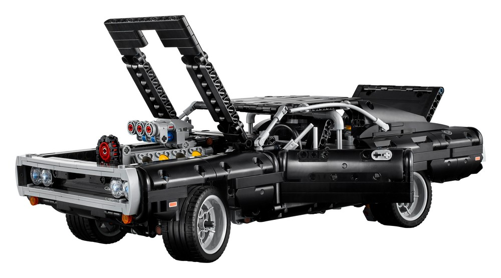 Dodge Charger Lego modellino auto Fast and Furious motore V8