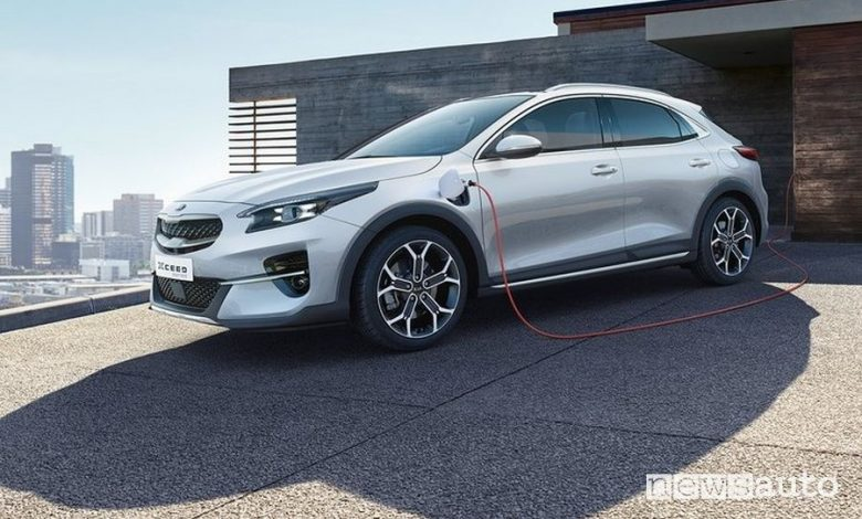 Kia XCeed ibrida plug-in
