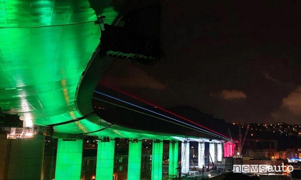 Inaugurazione nuovo Ponte di Genova San Giorgio