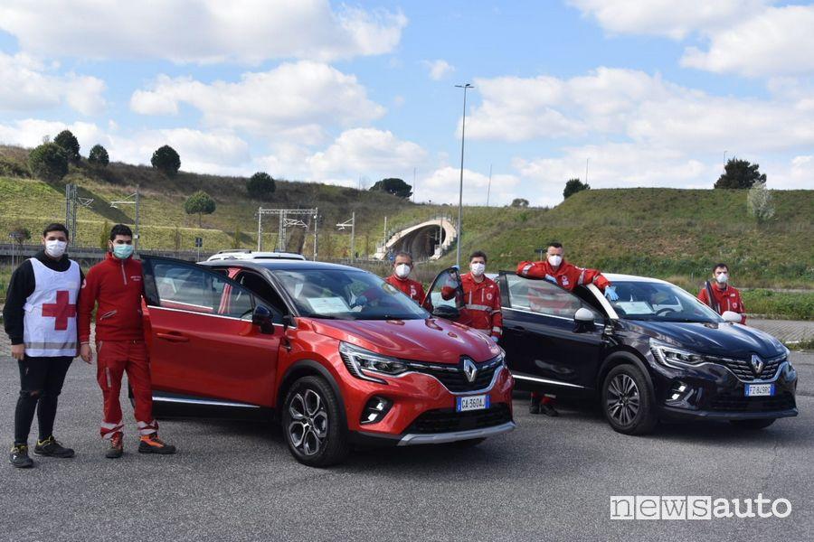 Renault Italia donazioni Croce Rossa Italiana Coronavirus