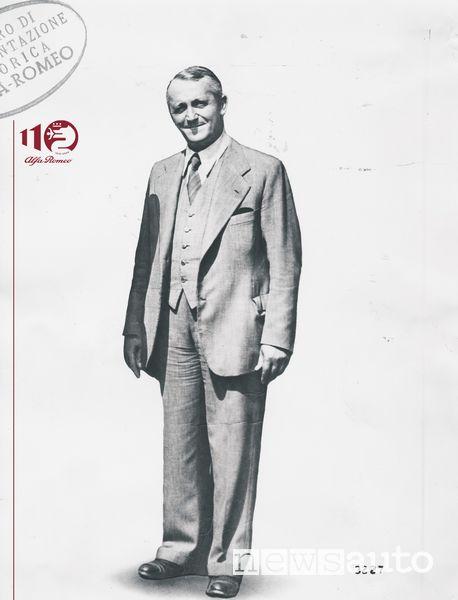 Ingegnere Ugo Gobbato, foto del 1933