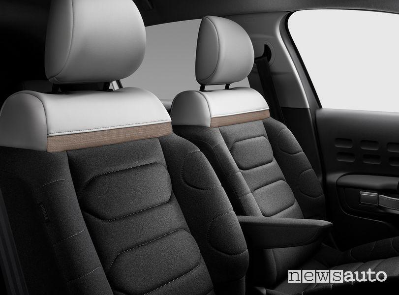 Sedili anteriori abitacolo Citroën C3 2020