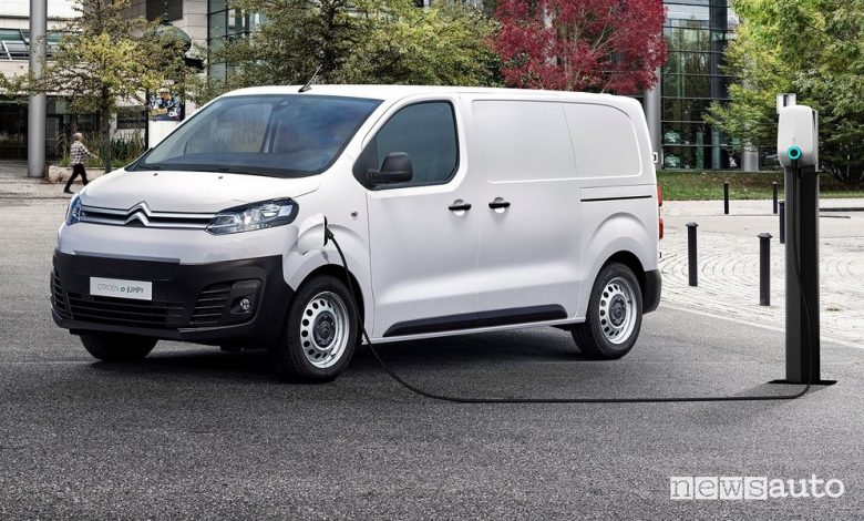 Citroën ë-Jumpy elettrico