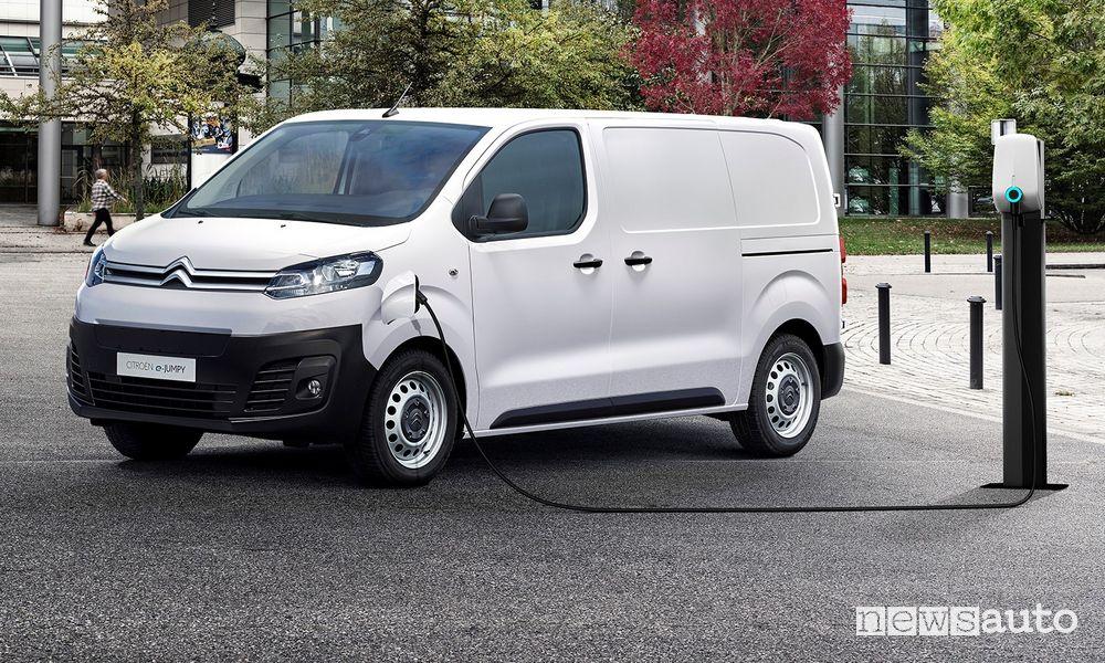 Furgone elettrico, Citroën ë-Jumpy