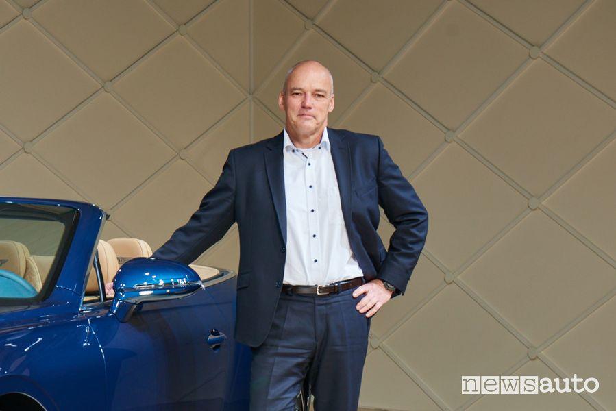 Werner Tietz, Vicepresidente di Ricerca e Sviluppo di Seat