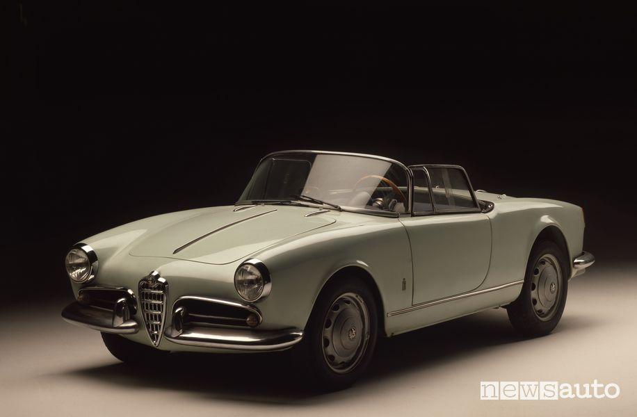 Alfa Romeo Giulietta Spider Prototipo del 1955