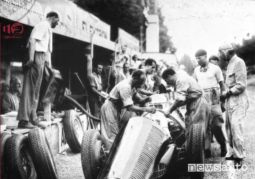Grand Prix Europa SPA Trossi su Alfetta 158 nel 1947