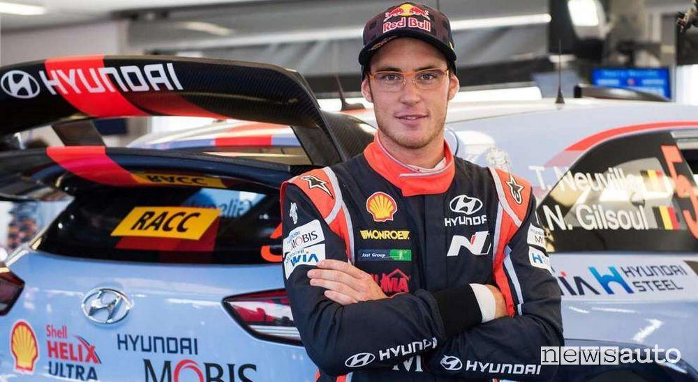 Thierry Neuville, pilota Hyundai Motorsport nel WRC