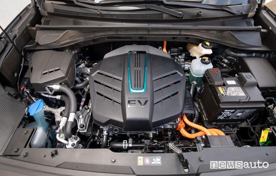 Vano motore elettrico Kia e-Niro elettrica