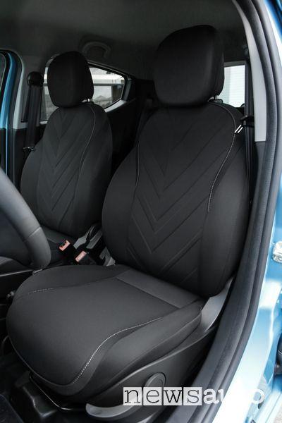 Sedili anteriori abitacolo Lancia Ypsilon Hybrid EcoChic