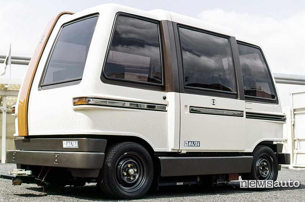 Mazda CVS Personal Car 1973