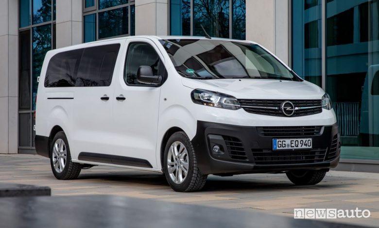 Opel Vivaro Life Combi