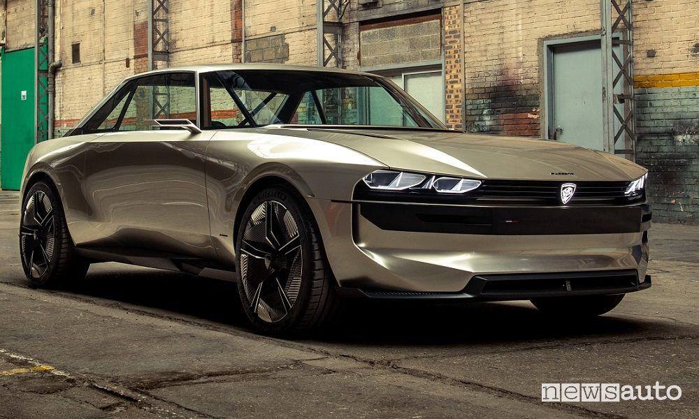 Concept car Peugeot e-Legend