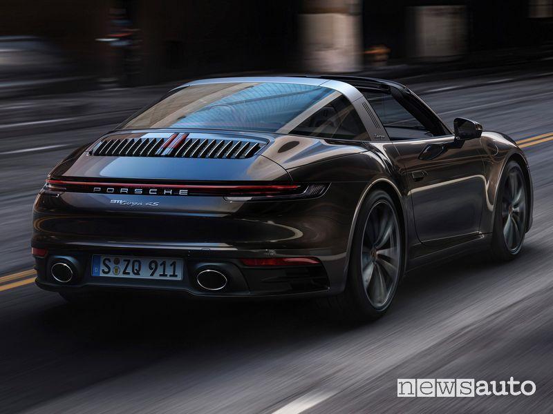 Scarico sportivo posteriore Porsche 911 Targa 4S