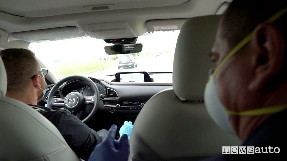 Riapertura concessionarie Mazda Fase 2 Coronavirus test-drive con sanificazione dell'auto