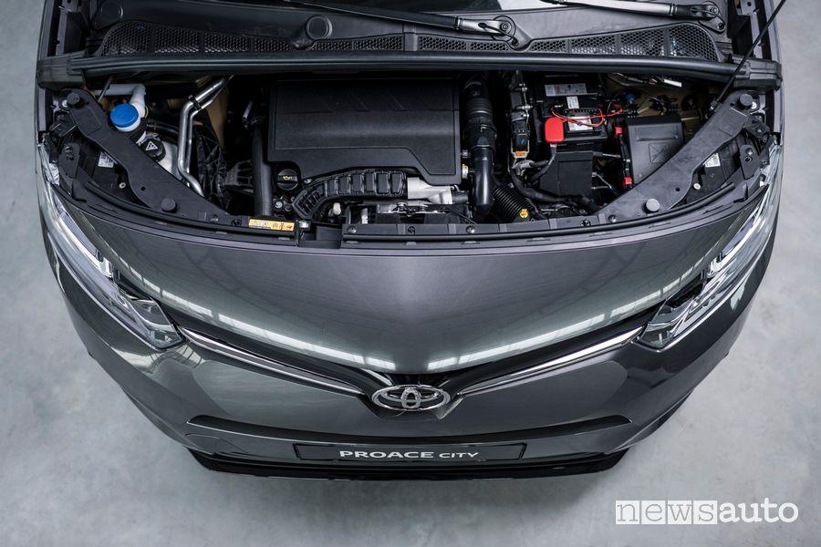 Vano motore Toyota Proace City Verso