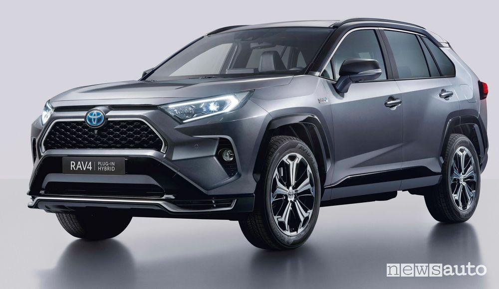 Toyota Rav4 5^ generazione plug-in hybrid PHEV 2020