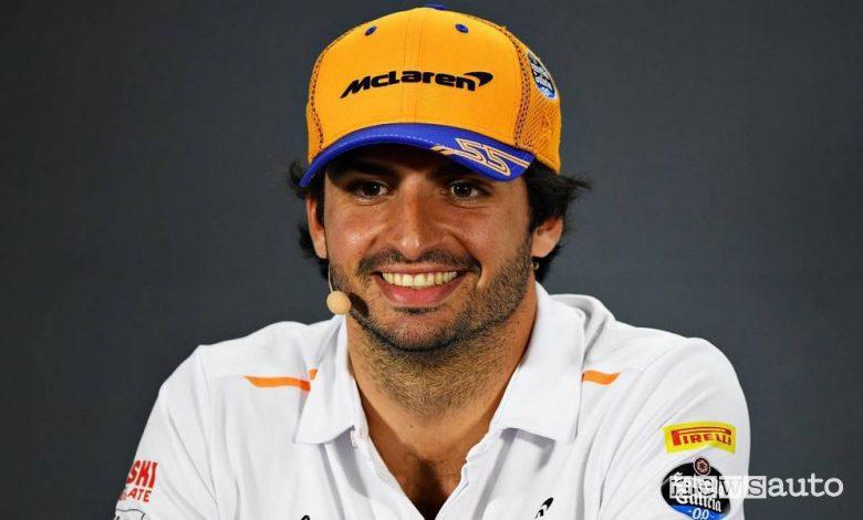 Carlos Sainz jr è il nuovo pilota Ferrari