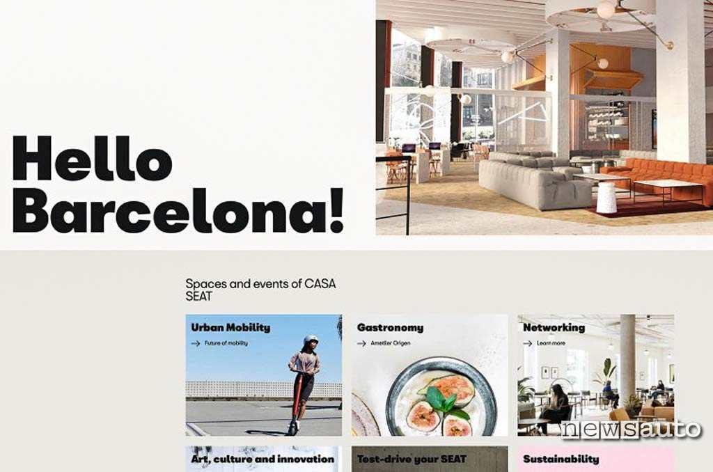 Casa Seat a Barcellona