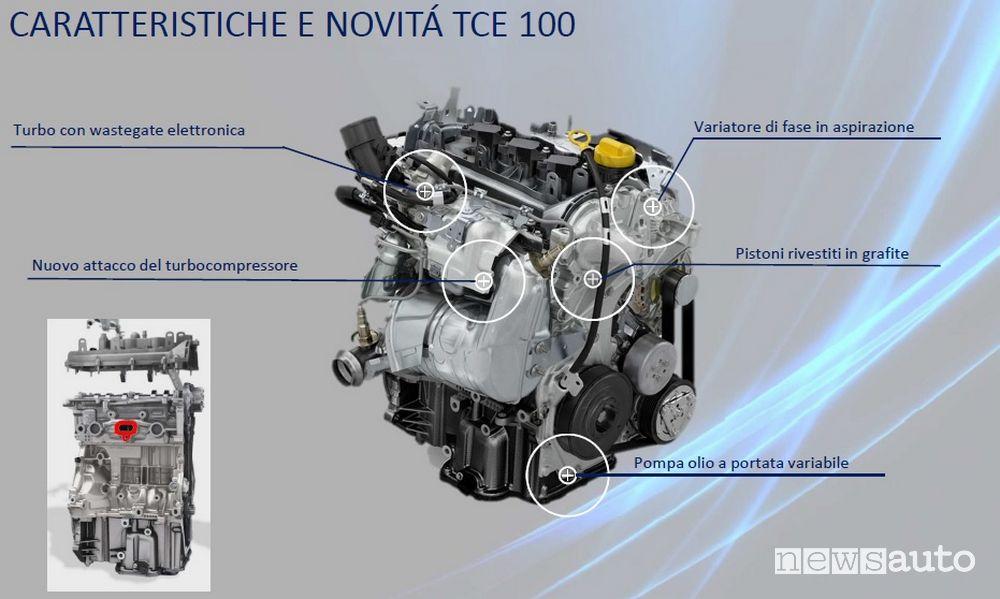 Motore 1.0 TCe 100 ECO-G