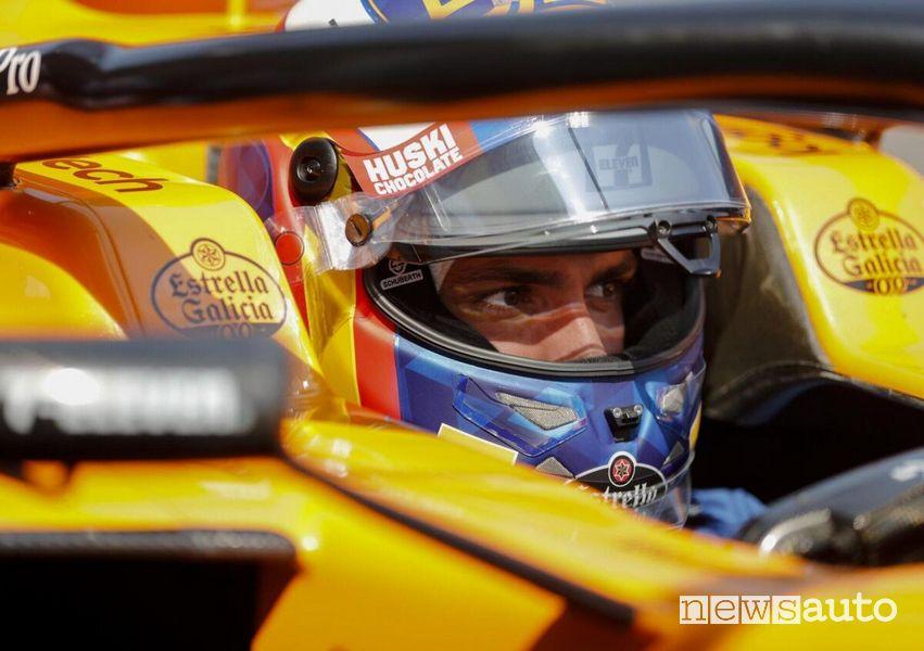 Carlos Sainz jr pilota McLaren 2018