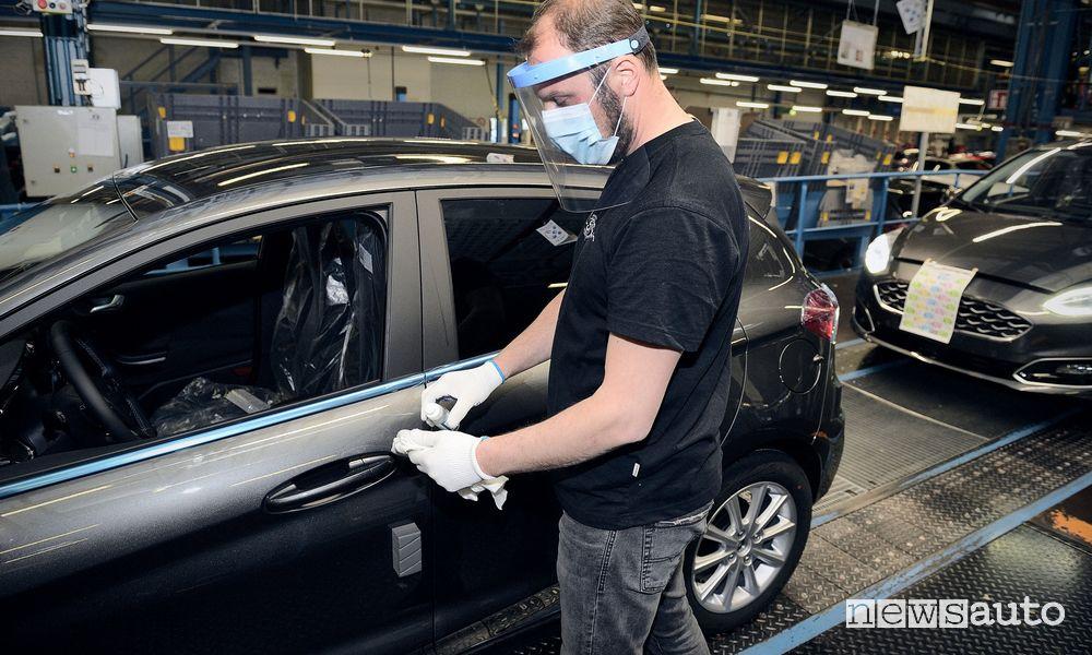 Ripresa produzione auto Ford in Germania