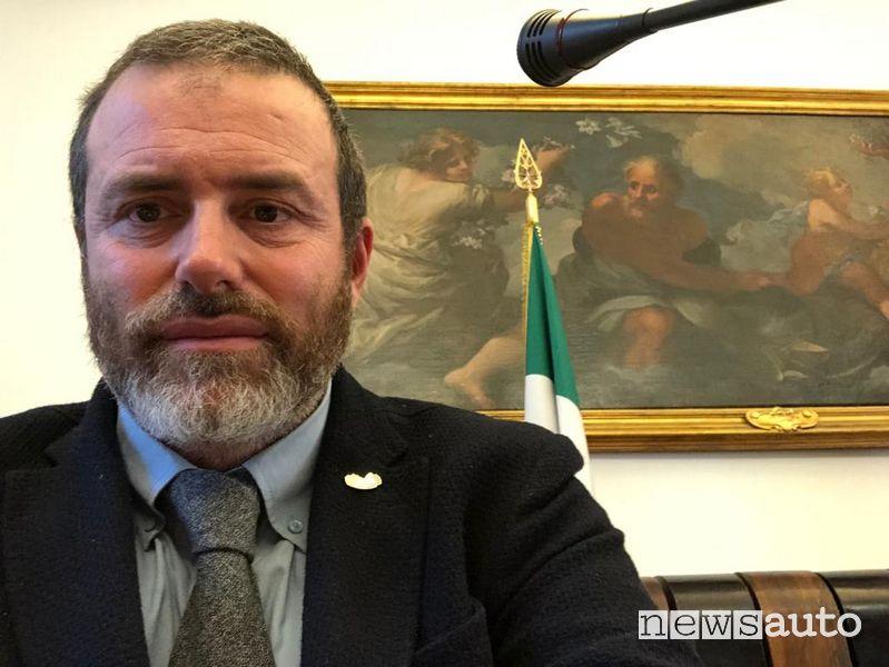 Alberto Pallotti, presidente dell'Associazione Italiana Familiari e Vittime della Strada Onlus