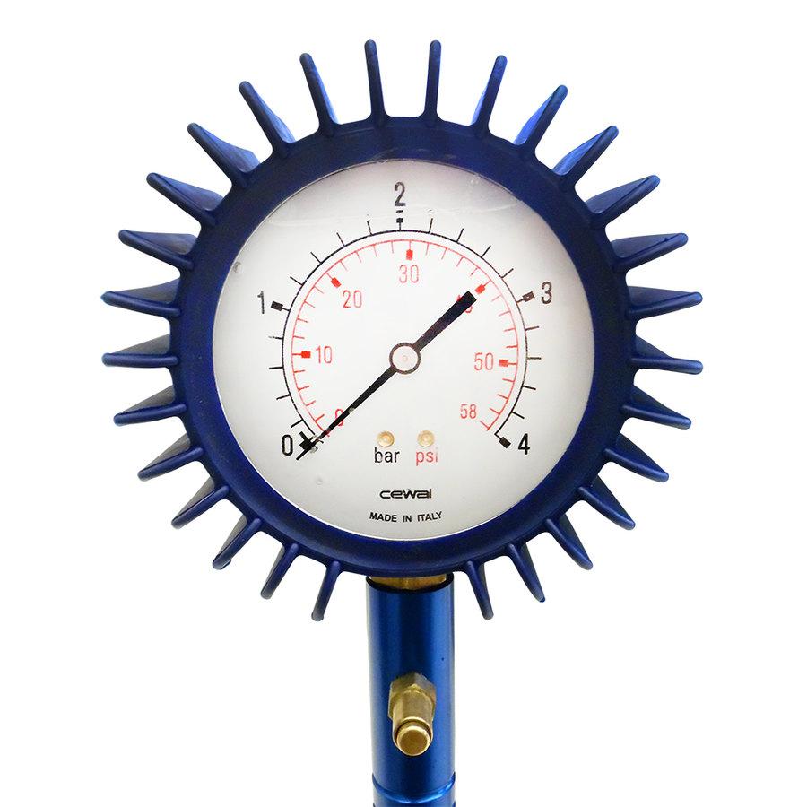 Manometro pressione pneumatici professionale