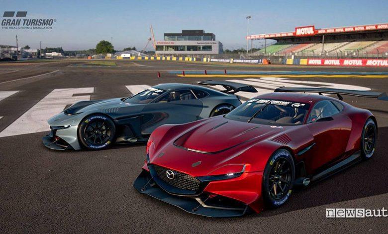 Mazda RX-Vision GT3 Concept Gran Turismo Sport PS4 esport