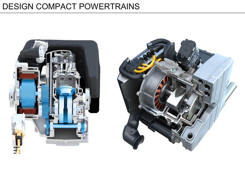 Motore rotativo Wankel dell'austriaca AVL che funge da range extender