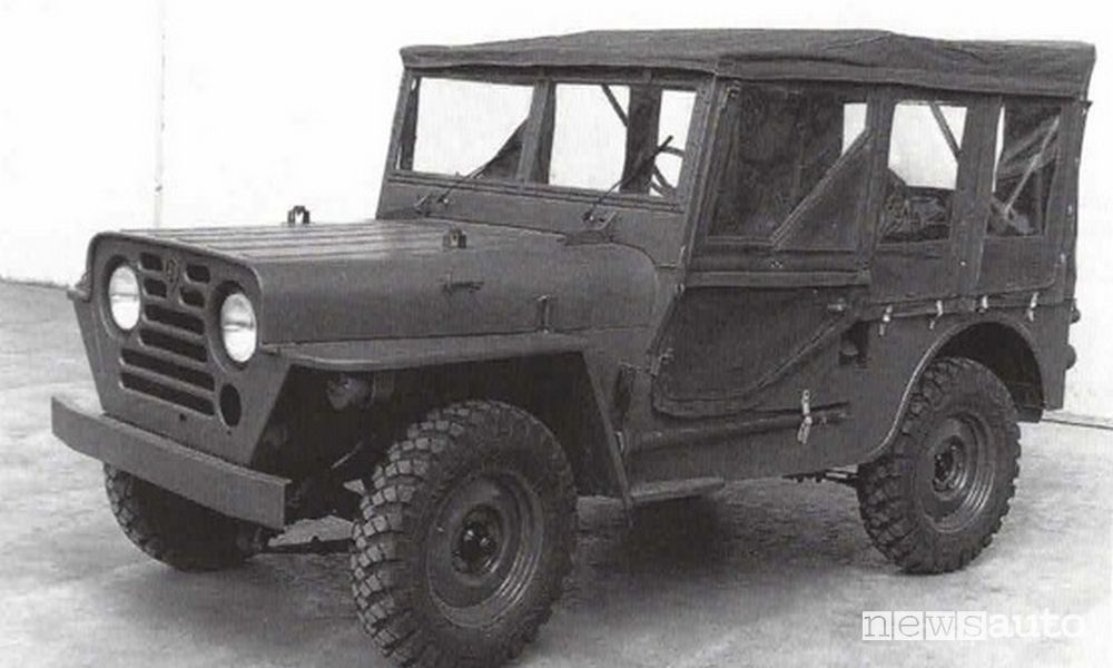 Prototipo 4x4 Peugeot 203 militare