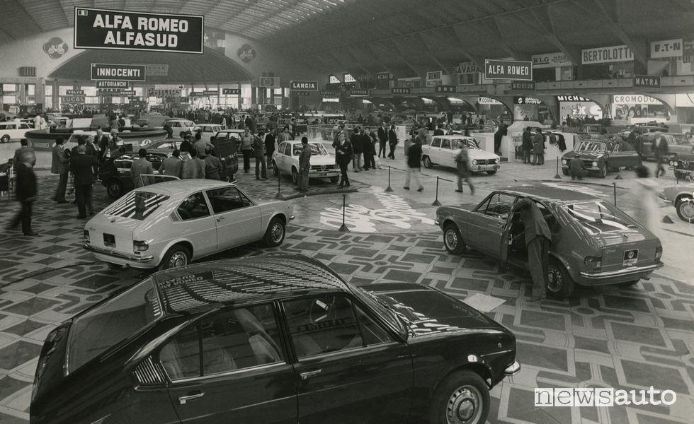 Alfasud, Salone di Torino, 1971