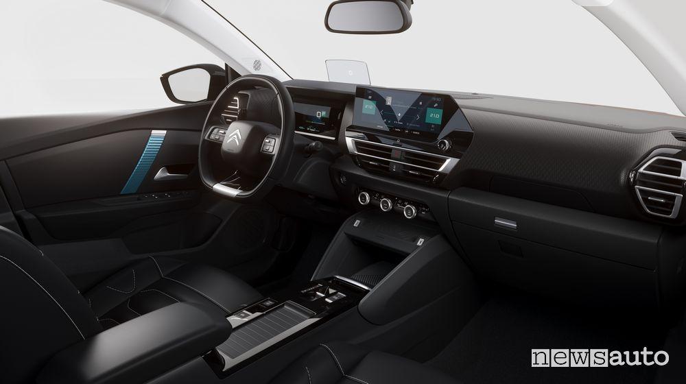 Abitacolo nuova Citroën C4