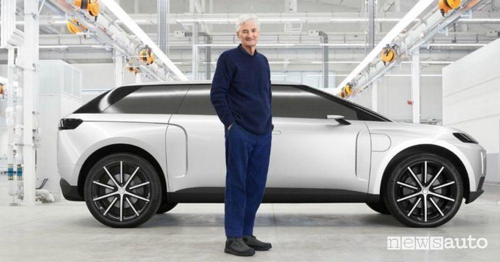 James Dyson SUV elettrico