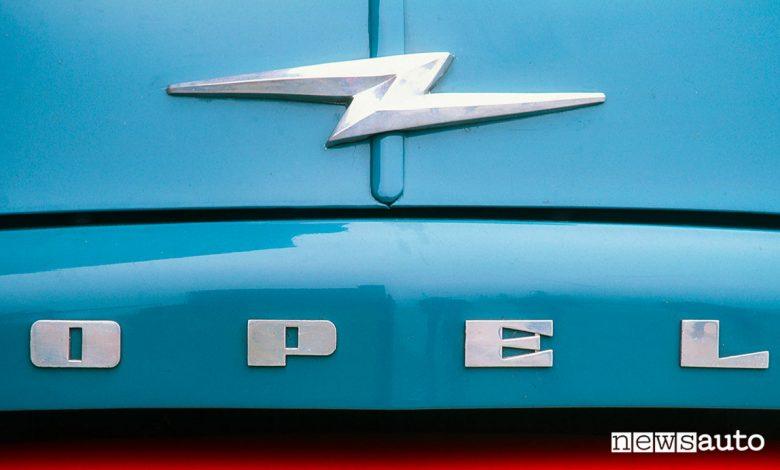Logo Opel Blitz 1952