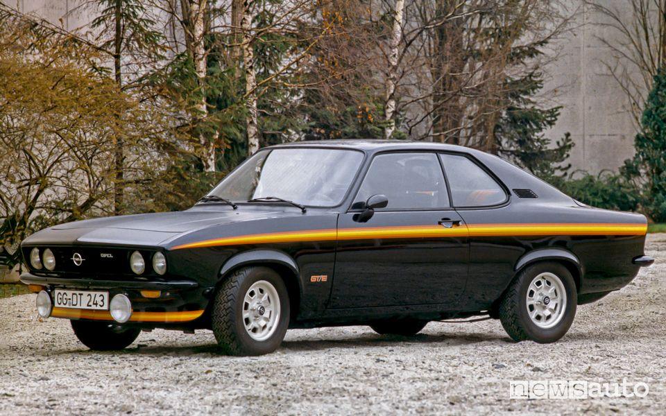 Opel Manta A GT/E del 1974