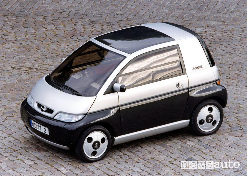 Vista di profilo Opel Maxx, prototipo del 1995