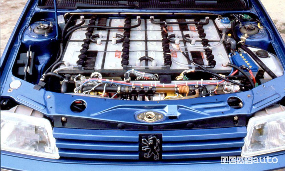 Auto elettriche storiche, la storia della Peugeot 205 Électrique