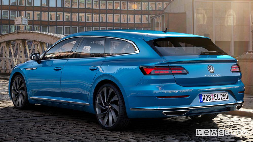 Vista posteriore Volkswagen Arteon Shooting Brake Elegance