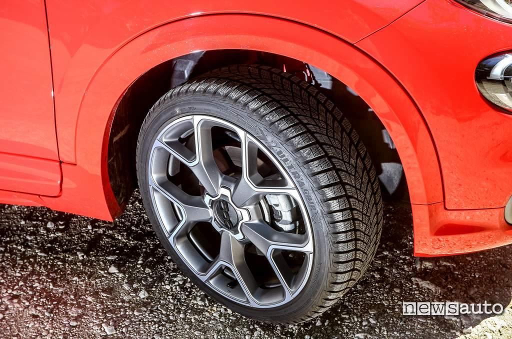 """Cerchi in lega da 19"""" Fiat 500X Sport"""
